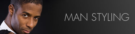 man styling