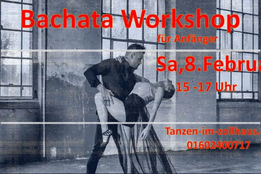 Bachata Workshop für Anfänger 8.Februar